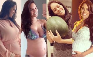 Karen Schwarz mostró su avanzado embarazo en Instagram [FOTOS]