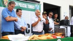 Detienen a 5 policías acusados de integrar banda criminal