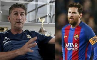 """Bauza y el futuro de Messi: """"Dónde esté, para mí será lo mismo"""""""