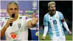 """Tite elogió a Messi: """"Hubiera querido que naciera en Brasil"""" - Noticias de real madrid"""