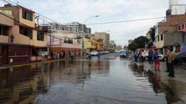 San Miguel: viviendas afectadas por aniegos tras lluvia [FOTOS]