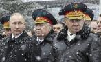 Putin elogia a su Ejército en el Día del Defensor de la Patria
