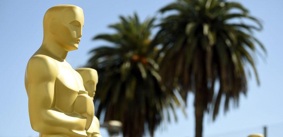 Empezó a montarse todo para la ceremonia del Oscar