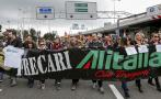 Italia: Alitalia cancela el 60% de sus vuelos por huelga
