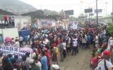 Vecinos de SJL marchan en demanda de obras a municipio de Lima