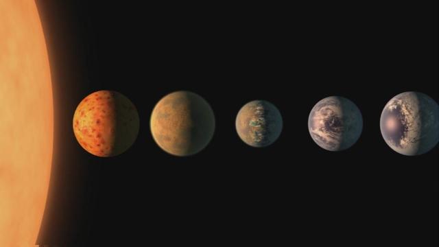 ¿En qué se parecen a la Tierra los 7 nuevos exoplanetas? [BBC]