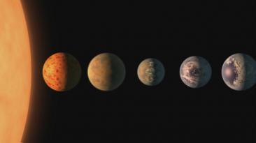 [BBC] ¿En qué se parecen a la Tierra los 7 nuevos exoplanetas?