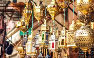 Renueva la decoración de tu casa con estas lámparas árabes