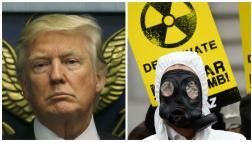 Trump asegura que quiere ampliar el arsenal nuclear de EE.UU.
