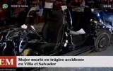 Villa El Salvador: joven falleció en choque de auto con bus