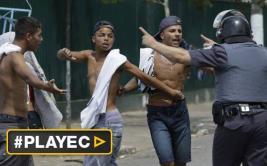 Brasil: 7 heridos en enfrentamiento entre Policía y drogadictos