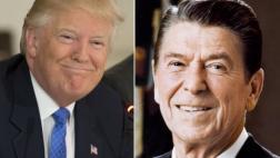 Mike Pence describe a Trump como el nuevo Ronald Reagan