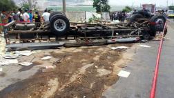 Trujillo: sube a 18 cifra de muertos por triple choque