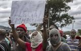 Sudáfrica: Violenta protesta contra los inmigrantes