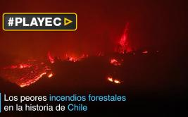 Los voraces incendios forestales de Chile [VIDEO]