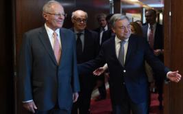PPK se reunió con secretario general de la ONU [VIDEO]