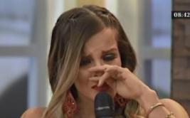 Alejandra Baigorria lloró por culpa de Ernesto Jiménez [VIDEO]
