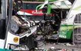 Junín: choque de buses deja un muerto y al menos 15 heridos