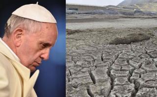 """Francisco teme que vivamos una """"guerra mundial por el agua"""""""