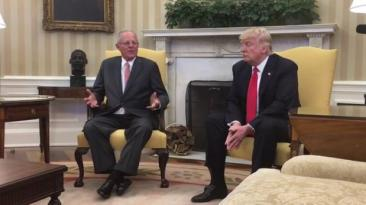 PPK se reunió con Donald Trump en la Casa Blanca
