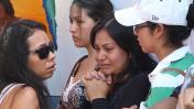 Trujillo: el dolor y llanto de los familiares de las víctimas