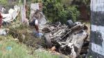 Fatal choque en Trujillo: chofer está en calidad de intervenido - Noticias de policia agustin ramirez rodriguez