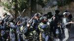 Choque entre manifestantes palestinos y soldados israelíes - Noticias de los polvorines