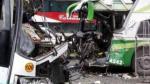 Junín: choque de buses deja un muerto y al menos 15 heridos - Noticias de alca