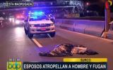 Surco: hombre murió atropellado cuando cruzaba Panamericana Sur