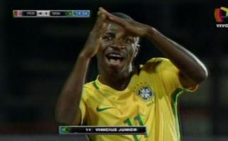 Sudamericano Sub 17: así fueron los dos goles de Brasil a Perú