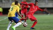 Sub-17 de Perú perdió por 3-0 en el debut ante Brasil
