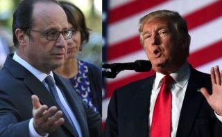 Hollande critica a Trump y le pide que no desprecie a París