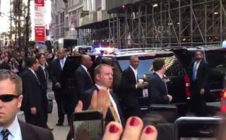 Facebook: Obama ocasiona gran conmoción en Nueva York