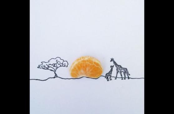Sorprendentes imágenes que se crearon con objetos cotidianos