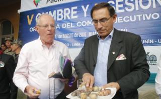 PPK defendió a Martín Vizcarra y también deslindó responsabilidad en presuntos hechos de corrupción por la carretera Interoceánica. (Foto: Archivo El Comercio)