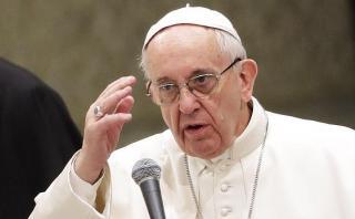 """El papa rechaza """"los muros que se alzan contra los otros"""""""