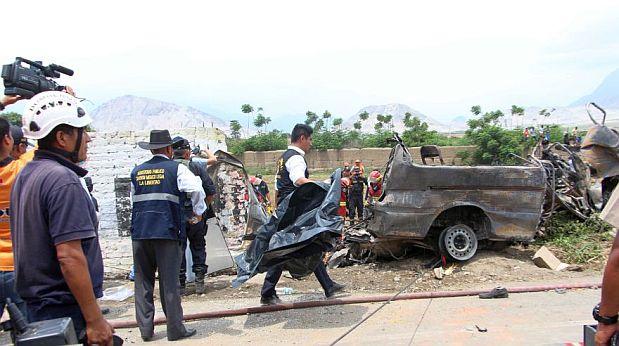 Trujillo: así fue el trágico accidente que mató a 18 personas