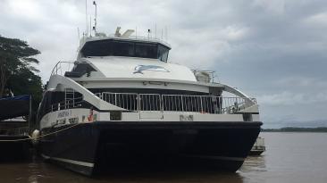 Loreto: Así es el primer ferry que conectará pueblos amazónicos