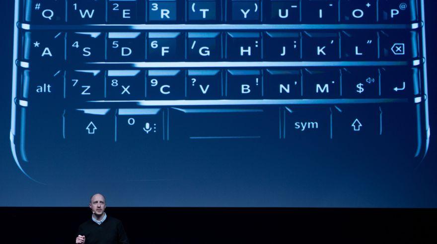 Revive la presentación del KEYone de Blackberry — MWC
