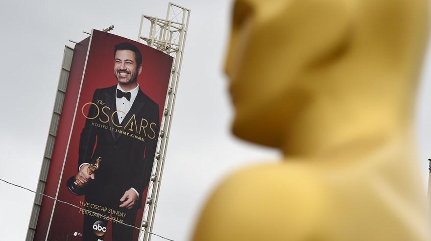 Todo va quedando listo para el Oscar 2017, ceremonia que conducirá Jimmy Kimmel. (Foto: AFP)