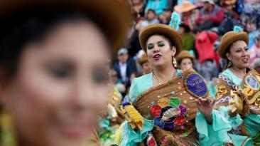 Carnaval de Oruro: así exhibe Bolivia su mejor folclore [FOTOS]