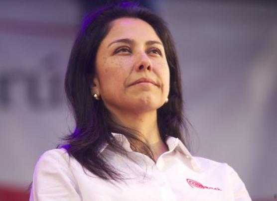 Nadine Heredia niega haber recibido dinero de Odebrecht
