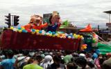 Cajamarca celebró colorida fiesta del Ño Carnavalón