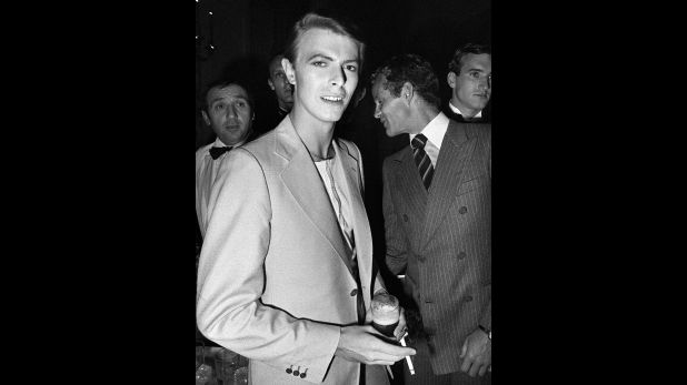David Bowie en el Festival de Cannes de 1978. (Foto: AFP)