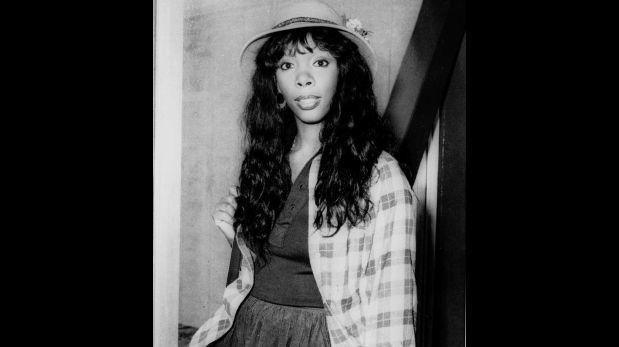 Donna Summer a los 27 años, en 1977 (Foto: AP)