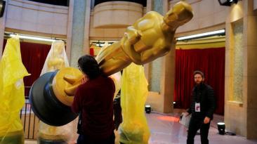 Oscar 2017: todo va quedando listo para la gala [FOTOS]