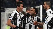 Juventus derrotó 2-0 al Empoli y sigue mandando en Italia