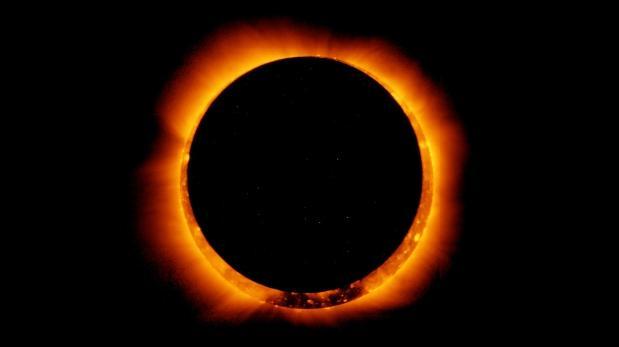 Así se vio el primer eclipse solar anular del año [VIDEO]
