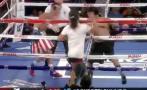 YouTube: iba a noquear a su oponente, pero aficionado lo evitó