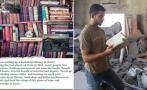 Facebook: crean la primera biblioteca de lengua inglesa en Gaza
